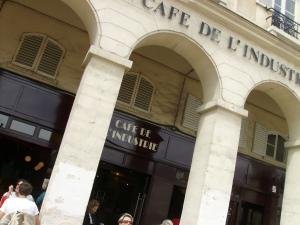 Le Café de l'Industrie à rouvert en avril